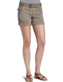 Calvin Klein Jeans Women's Belted Surplus Short, taupe Gray, 2