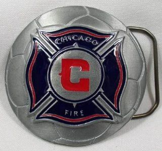 Chicago Fire MLS Soccer Team Buckle  Belt Buckles  Sports & Outdoors
