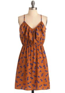 Meet Me at Sunset Dress in Love Birds  Mod Retro Vintage Dresses