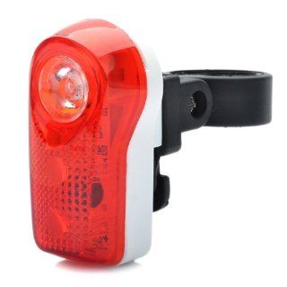 Bicycle Bike 2 mode 3 led Red Light Tail Warning Safety Light   Red + White (2 X Aaa)  Bike Lighting Parts And Accessories  Sports & Outdoors
