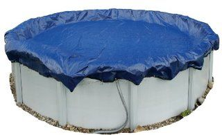 Dirt Defender 15 Year 21 Feet Round Above Ground Winter Pool Cover  Swimming Pool Covers  Patio, Lawn & Garden