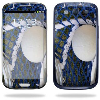 Protective Vinyl Skin Decal Cover for Samsung Galaxy S III S3 Cell Phone Sticker Skins Lacrossse Cell Phones & Accessories