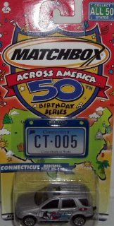 Matchbox Across America 50 Birthday Series Connecticut Mercedes Benz ML 430 Toys & Games