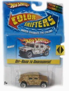 Hot Wheels Color Shifters Humvee Car Toys & Games
