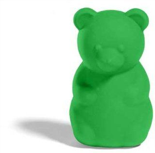Gimme Gummy Stuffable Bear Shaped Dog Toy, Large, Green  Pet Chew Toys