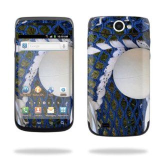 Protective Vinyl Skin Decal Cover for Samsung Exhibit II 4G Android Smartphone Cell Phone Sticker Skins Lacrossse Cell Phones & Accessories