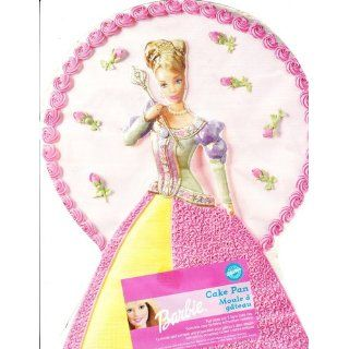 Wilton Dreamtime Princess Barbie Cake Pan #2105 8900 Novelty Cake Pans Kitchen & Dining