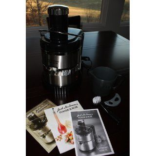 Jack Lalanne's JLSS Power Juicer Deluxe Stainless Steel Electric Juicer Electric Centrifugal Juicers Kitchen & Dining