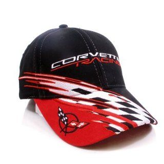 Chevrolet Corvette C5 Logo Racing Checkered Flag Baseball Cap Automotive