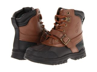 Polo Ralph Lauren Kids Country Boot Boys Shoes (Brown)