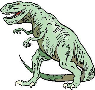"2"" Tyrann. Rex   Walking Printed engineer grade reflective vinyl decal sticker for any smooth surface such as windows bumpers laptops or any smooth surface."