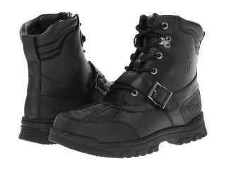 Polo Ralph Lauren Kids Country Boot Boys Shoes (Black)