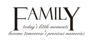 Family today's little moments becomes tomorrow's precious memories Vinyl wall art Inspirational quotes and saying home decor decal sticker steamss