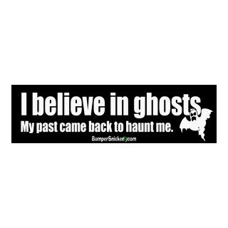 I believe in ghosts. My past came back to haunt me.   Refrigerator Magnets 7x2 in Automotive