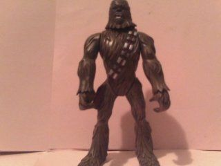 "2005 Starwars Chewbacca Figure 8"", Leg Squeezing Action Causes His Arms to Raise, Loose Replacement Figure Only, No Accessories As Shown in Photo"