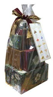 Lyndon Reede Collections 4lb 10.11 ounce holiday Christmas Gift Tower  Gourmet Chocolate Gifts  Grocery & Gourmet Food