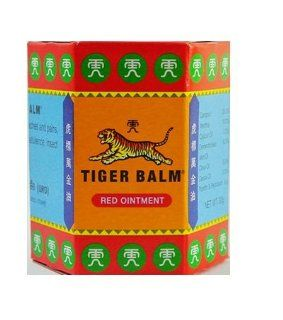 Tiger Balm RED Ointment Fast Muscle Pain Relief Size 30 grams  Pain Relief Rubs  Beauty
