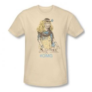 Et   Mens Dress Up T Shirt In Cream Clothing