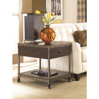 Hammary Furniture Structure Rectangular Drawer End Table