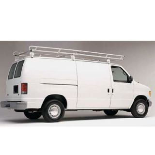 Hauler Racks Heavy Duty Bright Dipped Anodized Aluminum Van Rack   1200 Lbs. Capacity