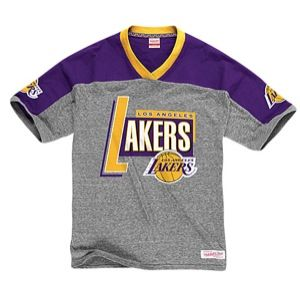 Mitchell & Ness NBA Vintage T Shirt   Mens   Basketball   Clothing   Los Angeles Lakers   Grey Heather