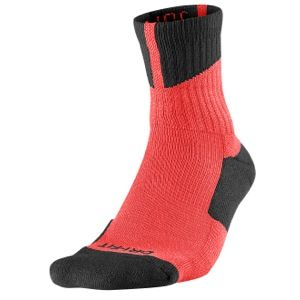 Jordan AJ Dri Fit High Quarter Socks   Basketball   Accessories   Bright Crimson/Black