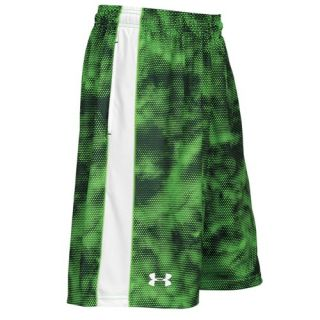 Under Armour Micro Shorts   Mens   Training   Clothing   Wire Print/White/White