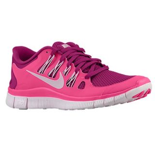Nike Free 5.0+   Womens   Running   Shoes   Raspberry Red/Summit White/Pink Foil