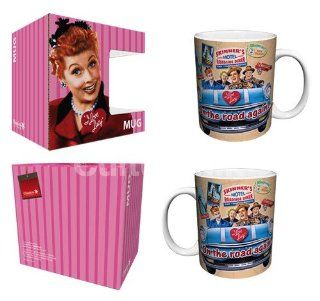 I Love Lucy Mug On The Road Again Style Kitchen & Dining