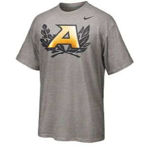 Nike College Rivalry Cotton T Shirt   Mens   Basketball   Clothing   Army Black Knights   Dark Grey Heather