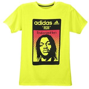 adidas RG3 Label Hook T Shirt   Mens   Football   Clothing   Electricity