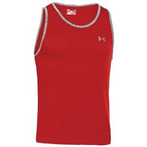 Under Armour Tech Tank   Mens   Training   Clothing   Red/Graphite