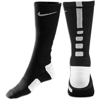 Nike Elite Basketball Crew Socks   Mens   Basketball   Accessories   Black/White