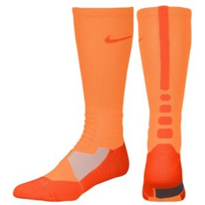 Nike Hyper Elite Basketball Crew Socks   Mens   Basketball   Accessories   Total Orange/Team Orange
