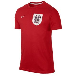 Nike Core T Shirt   Mens   Soccer   Clothing   England   University Red/White