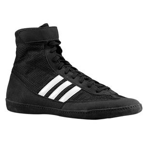 adidas Combat Speed 4   Mens   Wrestling   Shoes   Black/White/Black