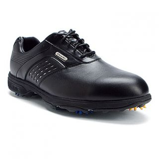 Etonic Dri Tech II Golf  Men's   Black/Black WP Leather