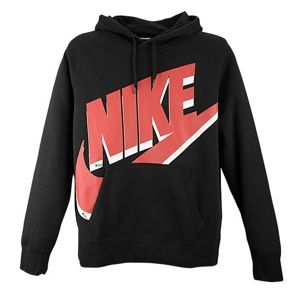 Nike BB51 AW77 Diamond Turf PO Hoodie   Mens   Casual   Clothing   Black/Red/White