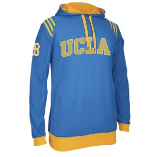 adidas College 3 Stripe Pullover Hoodie   Mens   Basketball   Clothing   UCLA Bruins   Bruin Blue
