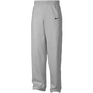 Nike Core Open Bottom Fleece Pants   Mens   For All Sports   Clothing   Bleached Heather/Black