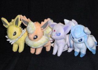 2 stuffed all four sets given to the Pokemon Best Wishes I LOVE EIEVUI bag Toys & Games