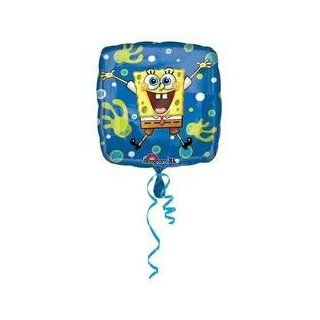 "Anagram   18"" Foil Balloon   Spongebob Squarepants Joy (Cases of 100 items)   Childrens Party Balloons"