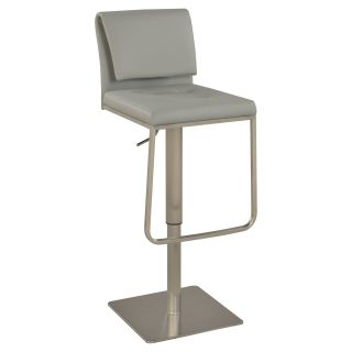 Chintaly Eithne Adjustable Gas Lift Bar Stool   Bar Stools