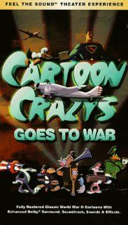 Cartoon Crazys Goes to War [VHS] Cartoon Crazy's Movies & TV