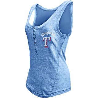 Touch By Alyssa Milano Womens Texas Rangers Marisol Tank Top   Size Medium