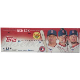Topps 2010 Boston Red Sox Complete Factory Retail Baseball Card Set in Red Sox
