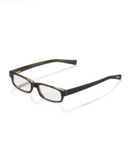 Mens Left Brain Reading Glasses   Eyebobs   Black (+1.50)