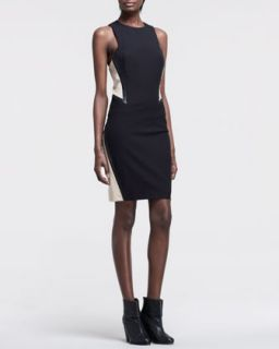 Womens Piper Two Tone Dress   Rag & Bone   Black (8)