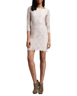 Womens Zarita Lace Dress, Nude   Diane von Furstenberg   Nude (10)