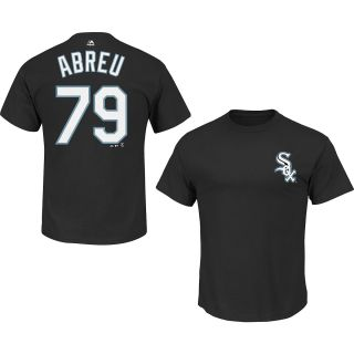 MAJESTIC ATHLETIC Mens Chicago White Sox Jose Abreu Name And Number T Shirt